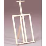 Prima Wooden Frame Style Table Top Easel: Model # U-18N