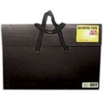 "Star® Sable Portfolio 20"" x 26"": Black/Gray, 2"", Sable, 20"" x 26"""