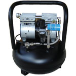 Silentaire AMP 50-24  Quiet Running Airbrush Compressor: Oil Free