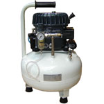 Silentaire Val-Air 50-24 AL Silent Running Airbrush Compressor: Oil Lubricated