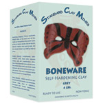 Sculpture House Boneware Self-Hardening Clay-Grey-50 lbs.