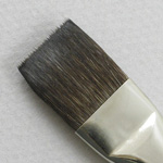 Trinity Brush Siberian Blue Squirrel 2001: Bright Size 6 Brush
