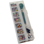 Eye-Lets Etc.™ Setter & Eyelet Tool Case: Clear, Case, (model STOR9), price per each