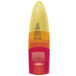 M + R Ellipstick Ellipstick Eraser/Sharpener: Assorted, One, Plastic, Manual, (model 0945), price per each