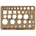 "Pickett® Pocket Template: 1/16"" - 11/16"", (model 1085I), price per each"