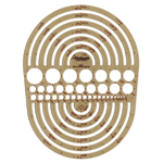 "Pickett® Circle Radius Master Template: 3/64"" - 7 1/2"", (model 1202I), price per each"
