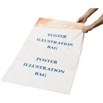 "Alvin® Poster Illustration/Foam Core Bags 26"" x 38""; Color: White/Ivory; Material: Polyethylene; Size: 26"" x 38""; (model PBF38), price per box"