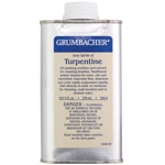 Grumbacher® Turpentine 8oz: Can, 8 oz, Solvents