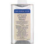 Grumbacher® Pre-Tested® Odorless Paint Thinner 8oz: Can, 8 oz, Solvents