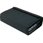 "Heritage Arts™ Marker Case Holds 48: 48 Markers, Black/Gray, Nylon, 12 1/2"" x 40"", Case, (model MC48), price per each"