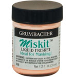 Grumbacher® Miskit™ Miskit Liquid Frisket: Jar, 2.5 oz, Masking Fluid, (model GB559), price per each