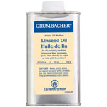Grumbacher® Linseed Oil 236ml: Can, 8 oz, Linseed Oil