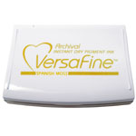 VersaFine™ Fast-Drying Pigment Ink Full Size Pad Spanish Moss: Green, Yellow, Pad, Pigment, Full Size Rectangle, (model VF062), price per each