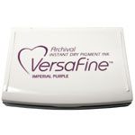VersaFine Fast-Drying Pigment Ink Full Size Pad Imperial Purple
