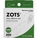 Therm O Web Zots™ Clear Adhesive Boxed Dots Medium: Clear, Glue, Round, (model TW3784), price per box