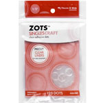 Therm O Web Zots™ Single Adhesive Dots 3-D: Clear, Glue, Round, (model TW3692), price per pack