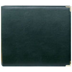 "Pioneer® 12 x 12 3-Ring Scrapbook Binder Green Oxford: Green, Leatherette, 12"" x 12"""