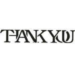 Sarasota Stamps Mounted Rubber Stamp Thank You : Rubber, Mounted, (model SSC-3453), price per each