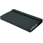 "Heritage Arts™ Marker Case Holds 24: 24 Markers, Black/Gray, Nylon, 12 1/2"" x 19 1/4"", Case, (model MC24), price per each"