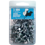 "Moore 3/8"" Push-Pins 100-Pack: 3/8"", (model M3-100), price per box"