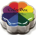 ColorBox® Petal Point Ink Pad Pinwheel: Multi, Pad, Pigment, Petal Points