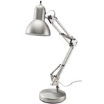 "Alvin® Architect Desk Lamp: Metallic, Under 10"", Desk, 26-75w, (model FD206ST), price per each"