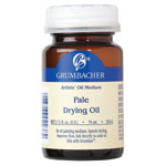 Grumbacher® Pale Drying Oil: Bottle, 2.5 oz, Oil, (model GB554-2), price per each