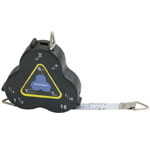 "Triangular Scale Tape Three-Sided Measure Architect: Metallic, 24"", Tape Measure, (model CB01), price per each"