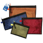 "Alvin® 4-Piece Everything Bag Set: Multi, Mesh, 10"" x 13"", 4 3/4"" x 12 1/2"", 6"" x 8"", 8 1/4"" x 10"""