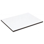 "Alvin® XB Series Drawing Board / Tabletop 16"" x 21"": White/Ivory, Melamine, 16"" x 21"", (model XB112), price per each"