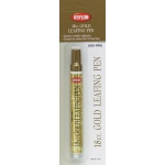 Krylon® Leafing Gold Paint Pen: Metallic, Paint, Chisel Nib