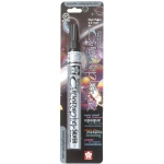 Pen-touch™ Silver Medium Paint Pen: Metallic, Paint, Medium Nib, (model 41582), price per each