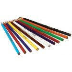 Crayola Long Colored Pencil 12-Color Set
