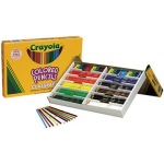 Crayola® Long Colored Pencil Class Pack 240 Piece: Multi, Pencil, (model BAS130), price per each