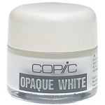 Copic® Opaque White Pigment: White/Ivory, Bottle, (model COPQW), price per each