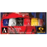 Grumbacher Acrylic Paint 6-Color Set