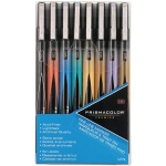 Prismacolor® Premier Fine Line Marker 8-Color Set: Multi, .05mm, Fine Nib