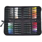 Prismacolor® Premier Art Marker 24-Color Set: Multi, Double-Ended, Alcohol-Based, Dye-Based, Extra Broad Nib, Fine Nib, (model BP24C), price per set