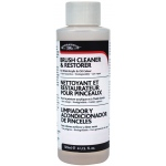 Winsor & Newton™ Brush Cleaner and Restorer 4oz: Bottle, 4 oz, (model 3230895), price per each