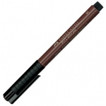 Faber-Castell® PITT® Artist Pen Sepia Brush: Brown, India, Pigment, Brush Nib, (model FC167475), price per each