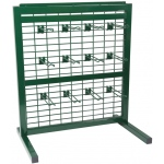 Wire Hook Rack: 12 Hooks