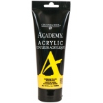 Grumbacher® Academy® Acrylic Paint 200ml Cadmium Yellow Medium Hue: Yellow, Tube, 200 ml, Acrylic, (model GBC034P200), price per tube