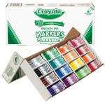Crayola® Classic Marker 256 Piece Set: Multi, (model BAS210), price per each