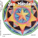 Zentangle® Zen Mandalas Book: Book, (model DO5367), price per each