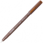 Copic® Multiliner (Disposable) Pen Sepia .1mm: Brown, Pigment, .1mm, Fine Nib, (model MLS01), price per each
