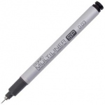 Copic® Multiliner SP (Refillable) Black Pen .03mm: Black/Gray, Pigment, Refillable, .03mm, Fine Nib, (model MLSP003), price per each