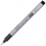 Copic® Multiliner SP (Refillable) Black Pen .3mm: Black/Gray, Pigment, Refillable, .03mm, Fine Nib, (model MLSP03), price per each