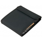 "Heritage Arts™ Marker Case Holds 12: 12 Markers, Black/Gray, Nylon, 6 1/2"" x 19 1/4"", Case"