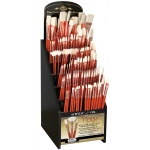 Royal & Langnickel Best Vienna Synthetic Bristle Acrylic And Oil Brushes Display