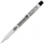 Alvin® TechLiner Technical Drawing Marker .2mm: Black/Gray, .2mm, Fine Nib, Technical